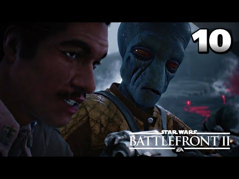 STAR WARS Battlefront II Gameplay Walkthrough Part 10 · Mission: Cache Grab (Story Campaign)