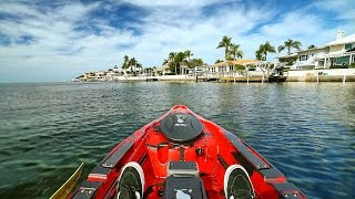 kayak fishing by 1 000 000 homes in florida offshore powered by old town