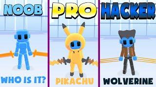 NOOB vs PRO vs HACKER – Samurai Flash (iOS)