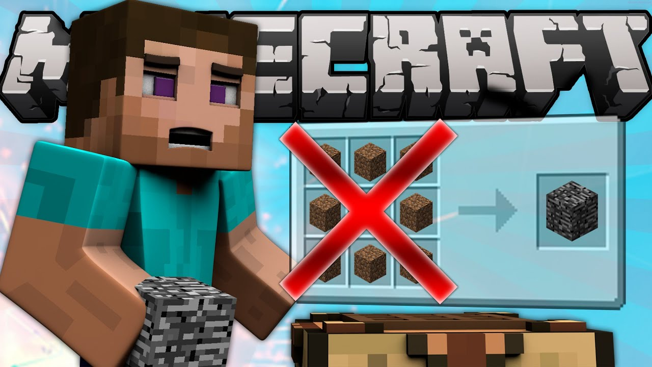 Why You Can T Craft Bedrock Minecraft Machinima Youtube