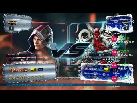 [Tekken 7 FR]혀눙(gusnd) Tekken7 Steve Promotion Project!! #20171012
