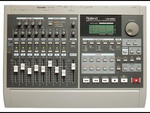 Roland vs-880 digital studio workstation manual in spanish, manual.