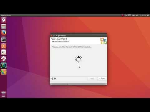 How To Install Microsoft Office On Ubuntu (20.04) (18.04.4) (19.10) (16.04.6)
