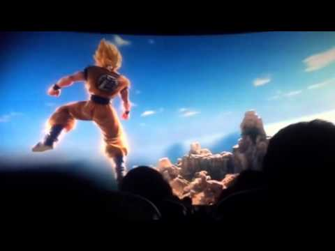 Dragon Ball Z Film  The Real 4D  Goku vs Freeza  (in cinema)