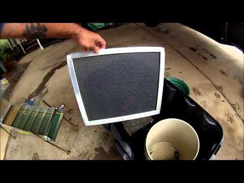 highbanker screen seperator for silt and plant matter