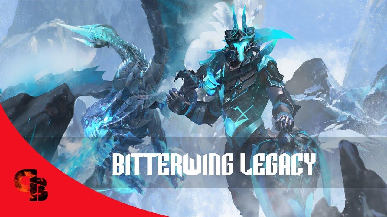 Dota  Store Dragon Knight Bitterwing Legacy