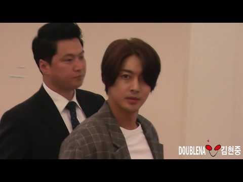 2018 04 20 kim hyun joong @ haneda airport