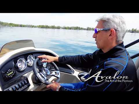 9) How to Drive a Pontoon in Rough Water | 2017 Avalon Luxury Pontoons