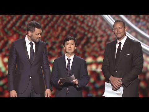 Alex Rodriguez (I'm Sorry) ESPY Awards 2015
