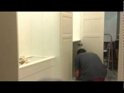 Ikea Armadio Due Ante.Howto Assembly Ikea Wardrobe Pax Birkeland Come Montare Un