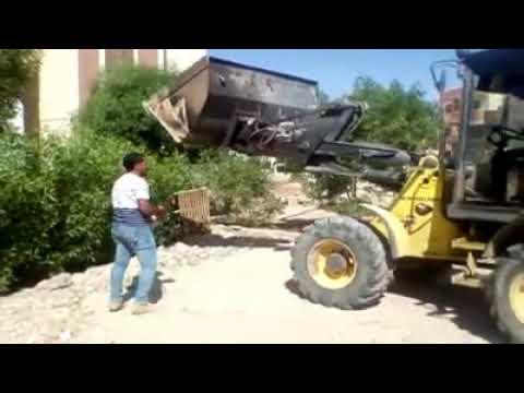 بالفيديو والصور : حملة إزالات مكبرة بمدينة طور سيناء  همام :: إزالة ما يقرب من ٢٣ حالة تعدى على أملاك الدولة