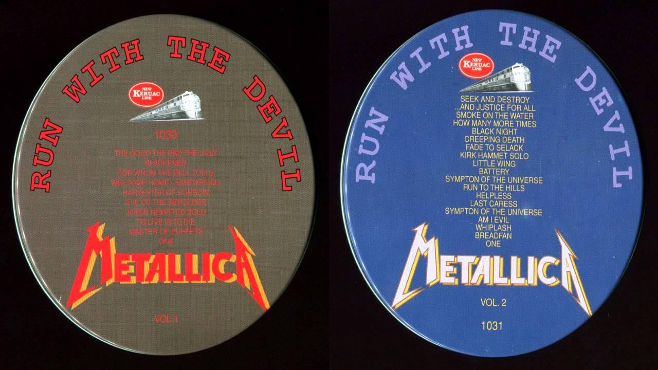 Metallica - Run With The Devil [Full Bootleg Album (1989)]