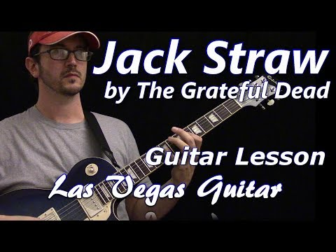 Jack Straw by The Grateful Dead Guitar Lesson