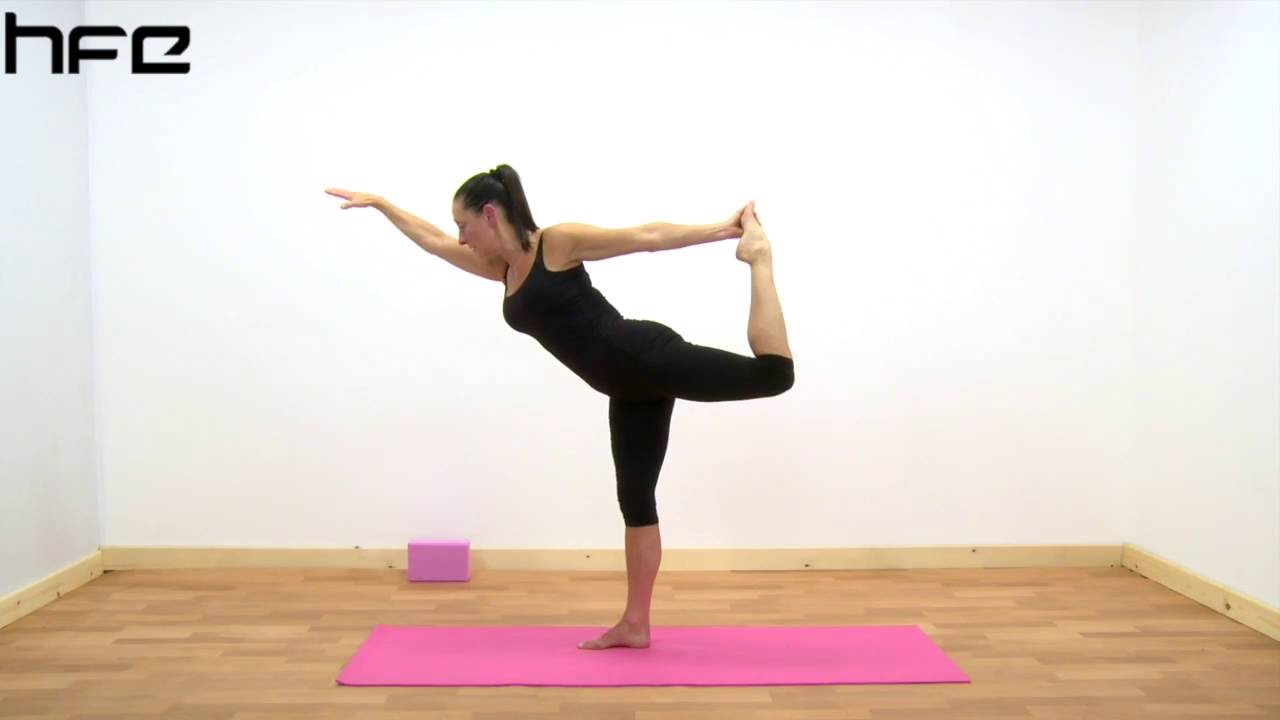 Yoga Poses Natarajasana The Lord Of The Dance Pose Youtube