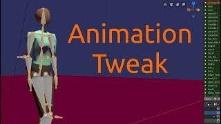 Copy and Tweak Walk Cycle Action in Blender