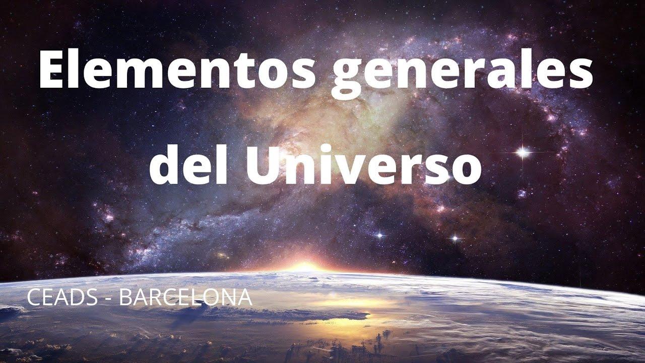 """Mini-charla """"Elementos generales del Universo"""""""