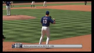 MLB® The Show™ 17 Rangers Vs Mariners highlights