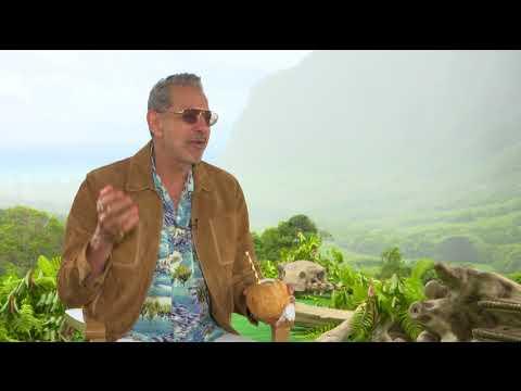 Jeff Goldblum's iconic laugh 25 years after Jurassic Park