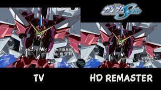 Mobile Suit Gundam SEED OP4 Comparison TV vs HD Remaster