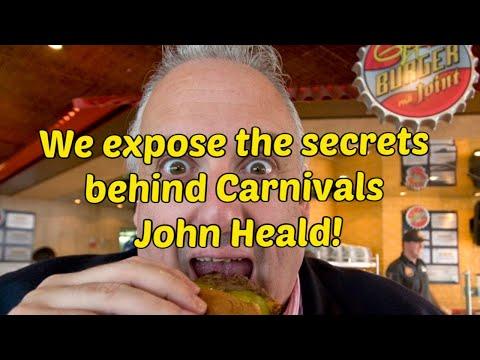 Carnivals John Heald on Cruise ship life