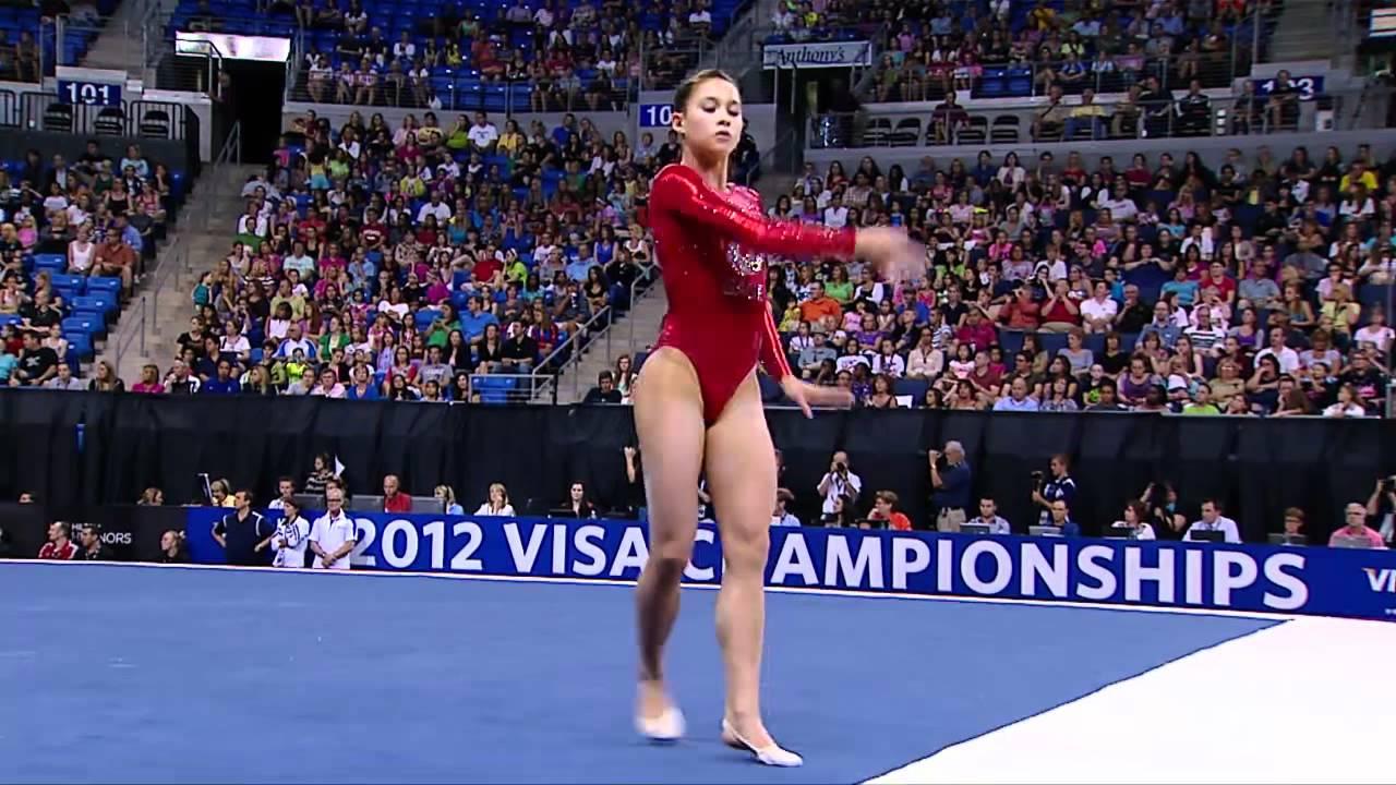 Sarah Finnegan Floor 2012 Visa Championships Women