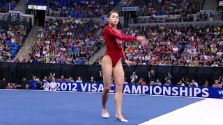 Sarah Finnegan - Floor - 2012 Visa Championships - Women - Day 1