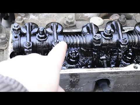 УАЗ 31512 моя история #27 регулировка клапанов УАЗ ДВС 417
