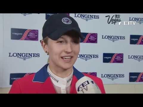 Longines FEI World Cup™ Jumping Final 2014/15 Las Vegas - Lucy Davis