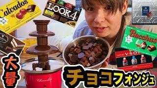 13種類のチョコでフォンジュパーティー!!【バレンタイン】 PDS