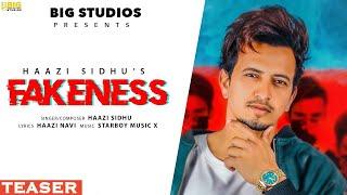 Haazi Sidhu : Fakeness (Teaser) - New Punjabi Songs 2020 | Motivational Song | Big Studios