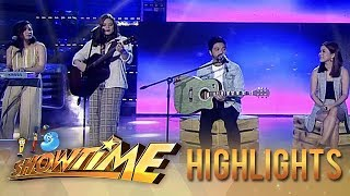 Juris, Nyoy, Leanne & Naara serenade the madlang people with OPM songs | It's Showtime