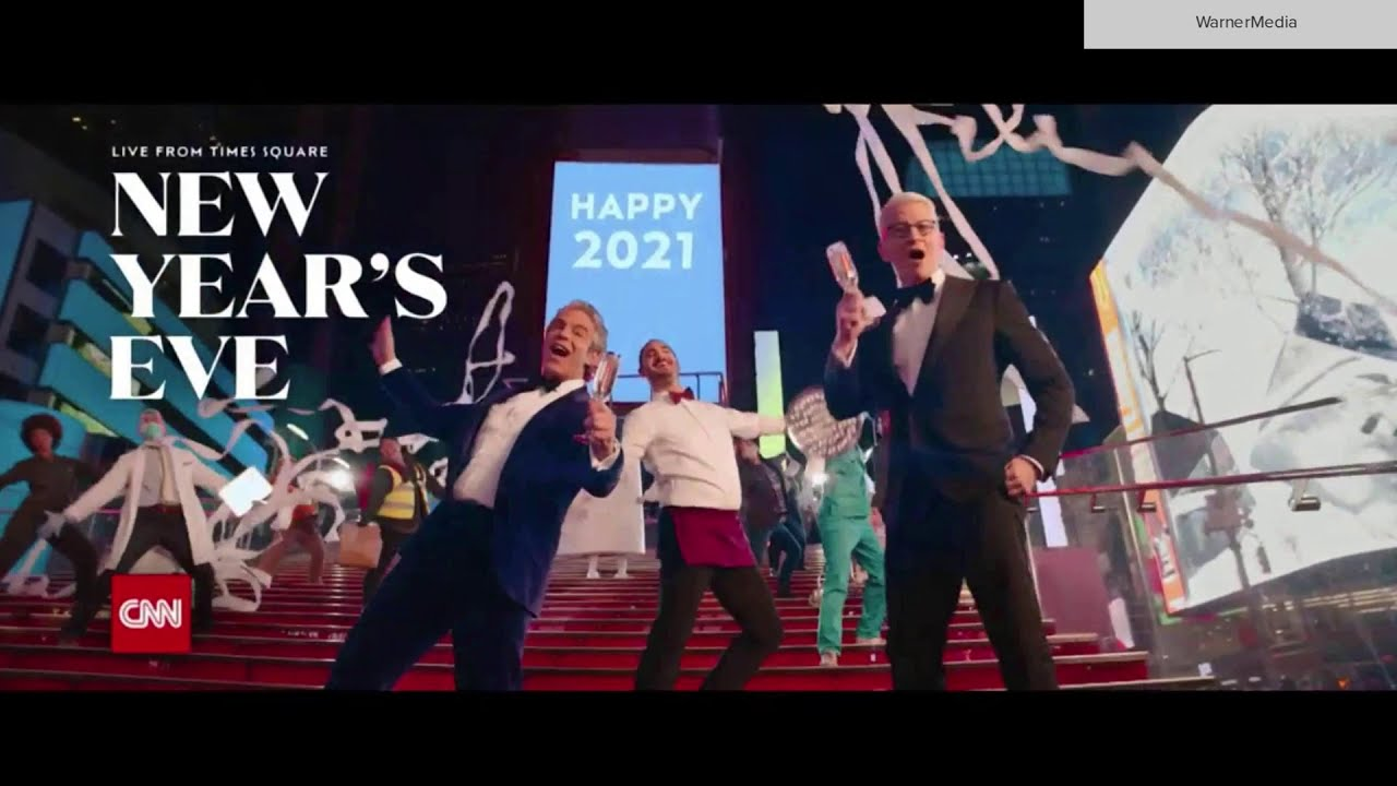 CNN New Year's Eve promo Dec. 31, 2020