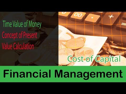 25. Time Value of Money (TVM) | Concept Of Present Value Calculation | Financial Management