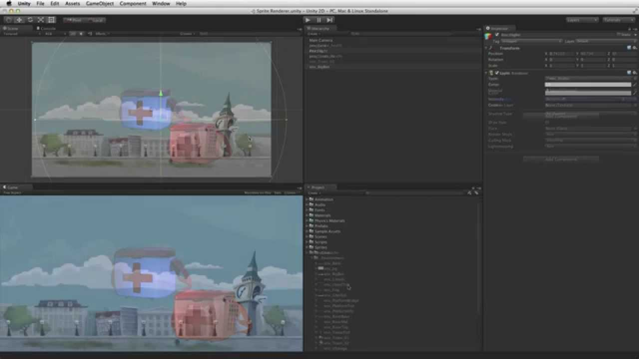 Sprite Renderer - Official Unity Tutorial