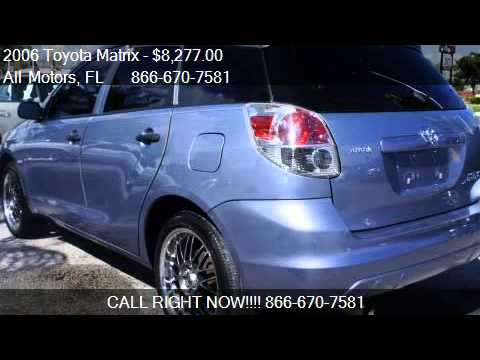 2006 Toyota Matrix For Sale In Homestead Fl 33033 At All