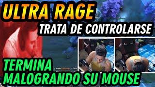 SIDERAL ULTRA RAGE , ROMPE EL CLICK DE SU MOUSE DE TANTO GOLPEARLO Y AL FINAL PIDE COMENDS -  DOTA 2