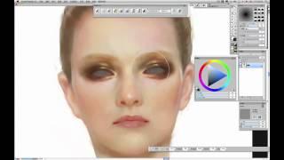 Corel   Painter 梁月   臉部繪製與服裝