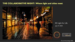 The Collaborative Night: Where light and cities meet
