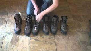 Some great boots from Lowa, Meindl, Hanwag, Kenetrek, Zamberlan, and Asolo