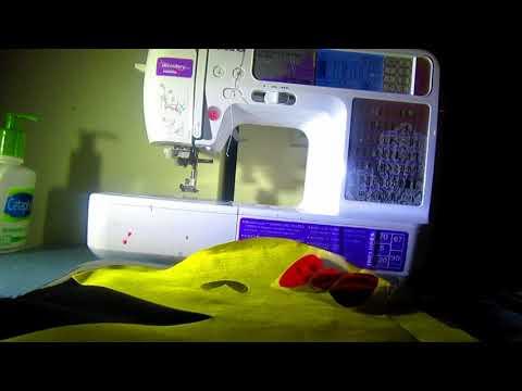 Reversible PacMan Pillow DIY