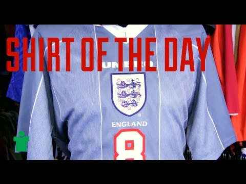 Shirt Of The Day - England Euro 96