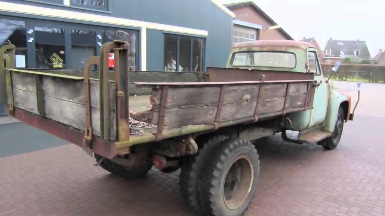 Ford F500 Youtube 1954 F600 Dump Truck