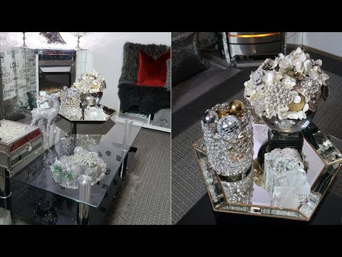 Coffee Table Styling Ideas   How to Decorate GLAM Coffee Table
