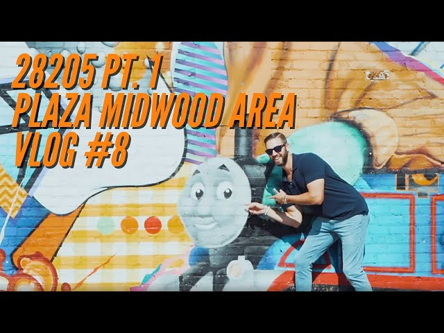 28205 Part 1 - Plaza Midwood Area | VLOG #8