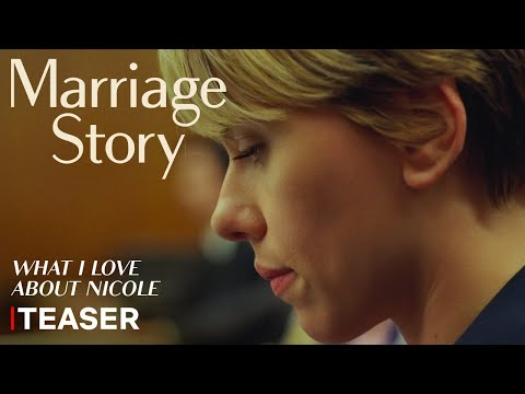 'Marriage Story' Starring Adam Driver & Scarlett Johansson