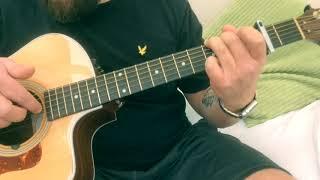 Paul Weller-Gravity-Acoustic Guitar Lesson.