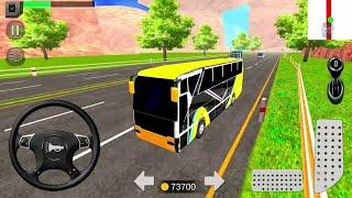 Euro Coach Bus Simulator 2020 - City Bus  Free Driving Gameplay - Android Gameplay screenshot 4