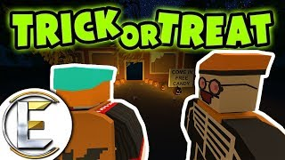 Video TRICK OR TREAT ROLEPLAY IN UNTURNED | Halloween gone wrong! - Unturned RP ( I dare you to go knock ) download MP3, 3GP, MP4, WEBM, AVI, FLV Februari 2018