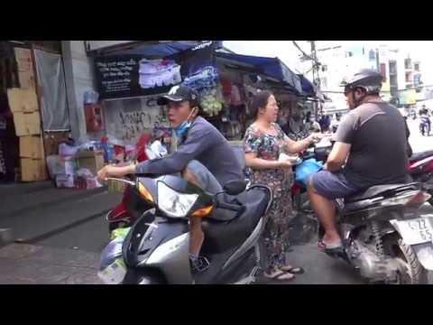 Chợ Thái Bình khu Phạm Ngũ Lão  Q1 Sài Gòn