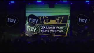 Fizy 20. Liseler rası müzik yarışması Pirelli Anadolu Lisesi Duman-Kolay değildir